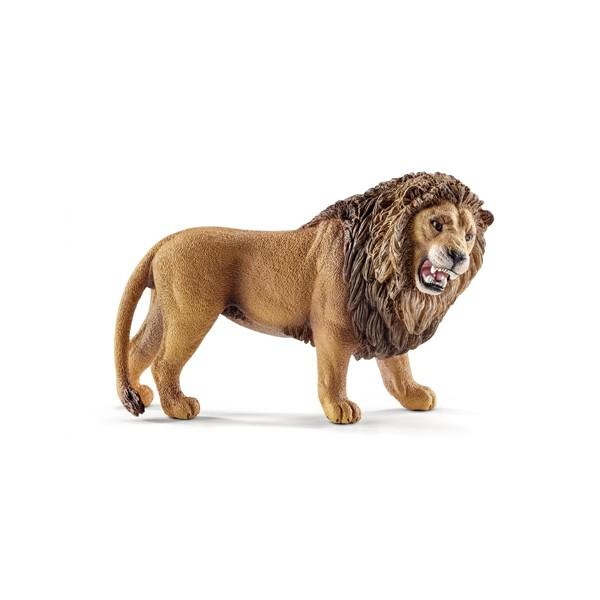 Leu care rage Schleich imagine hippoland.ro