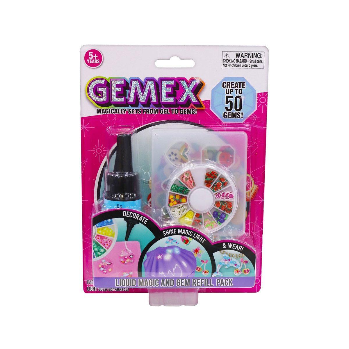 Lichid pentru setul de creatie cristale Gemex imagine hippoland.ro