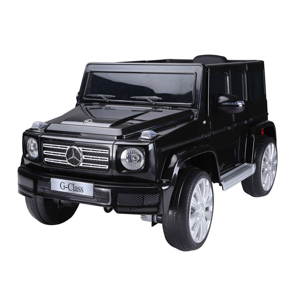 Masina cu acumulator Ocie Jeep Mercedes Benz G 500 12 V Black 8010268-2R imagine hippoland.ro