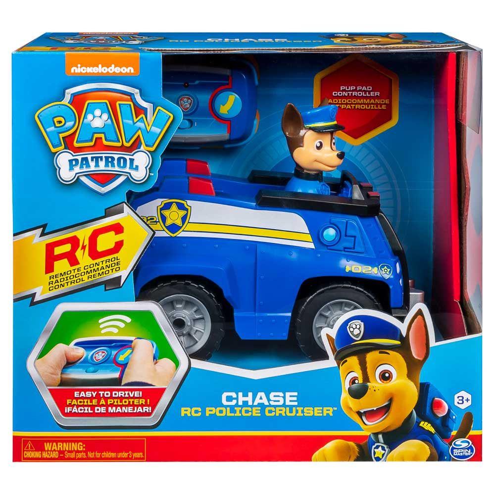 Masina de politie a lui Chase cu telecomanda Paw Patrol