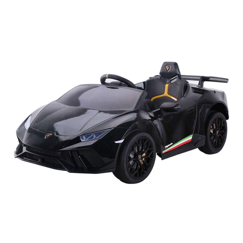 Masinuta cu acumulator Lamborghini Huracan 12 V Black 8210270BR imagine hippoland.ro