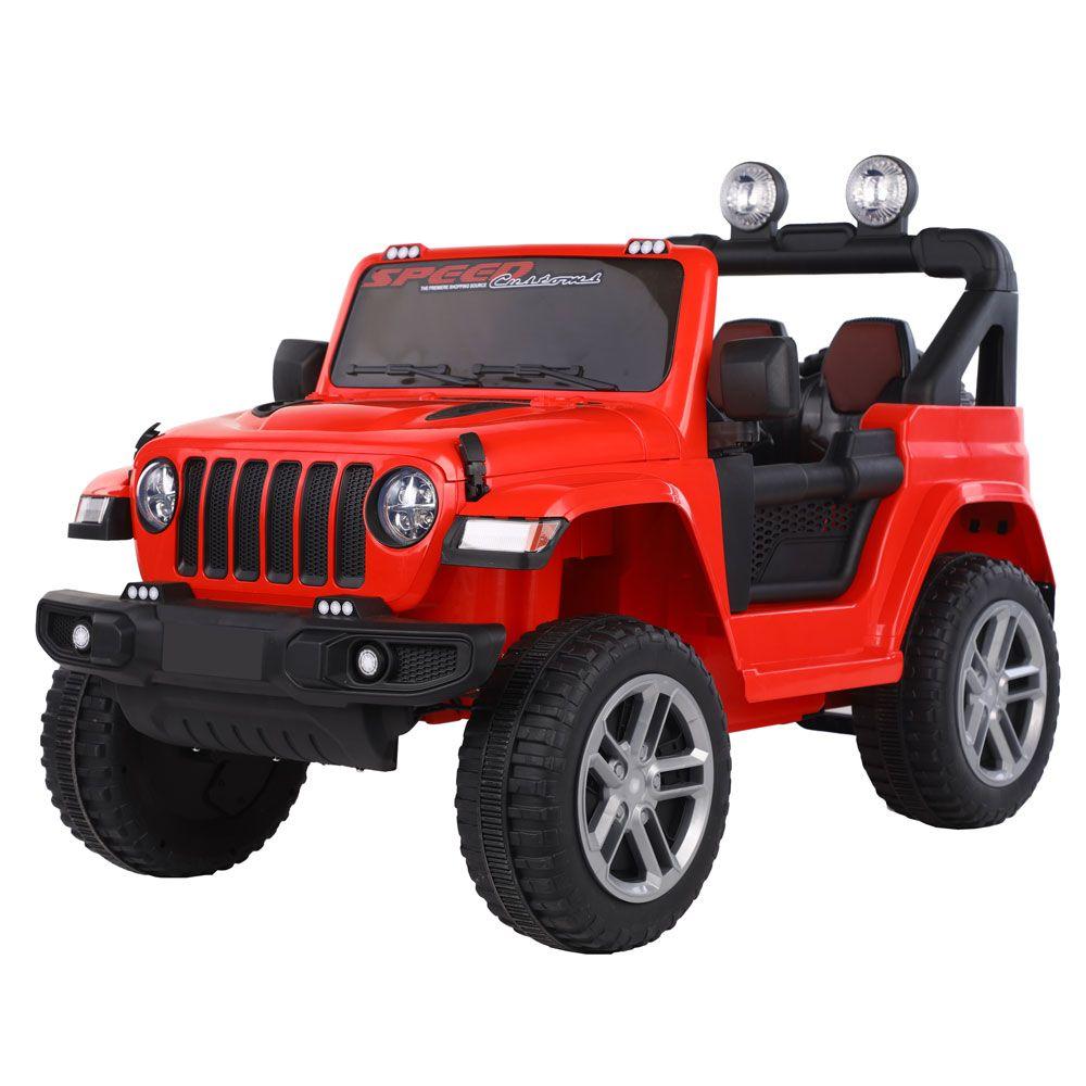 Masinuta cu acumulator Ocie Jeep Speed 12 V Red 3430013R imagine hippoland.ro