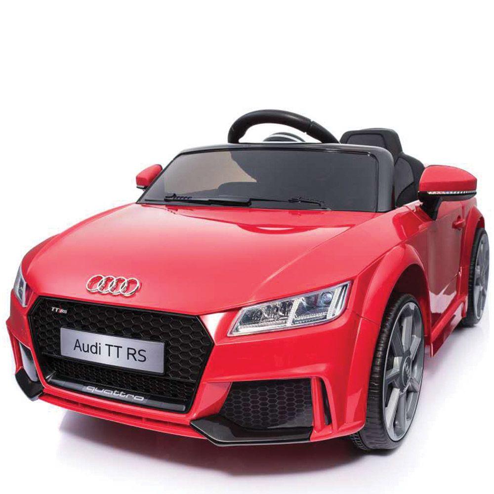 Masinuta cu baterii Ocie Audi TT 8010244 6V Rosie imagine hippoland.ro