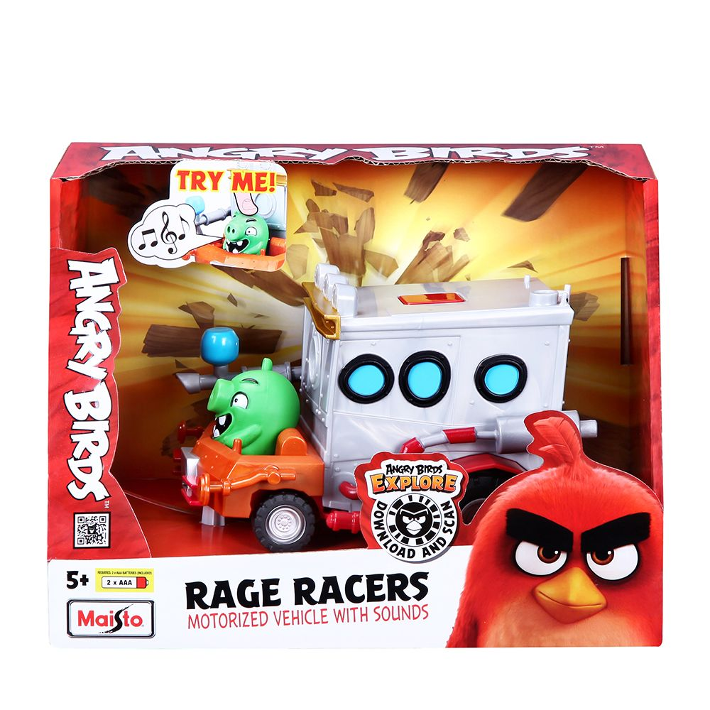 Masinuta cu sunete Maisto Angry Birds Rage Racers imagine hippoland.ro