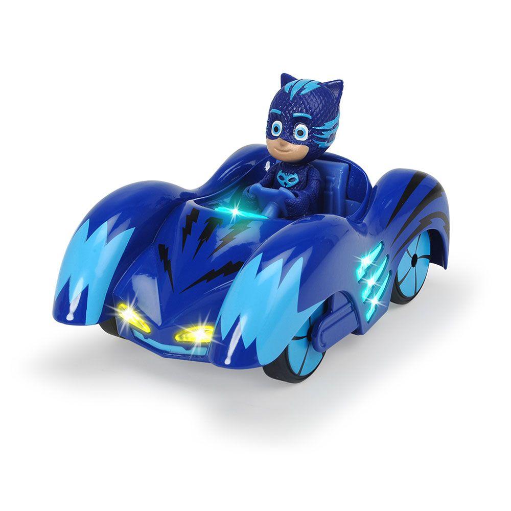 Masinuta cu sunete si lumini Dickie PJ Mask Cat Boy imagine hippoland.ro