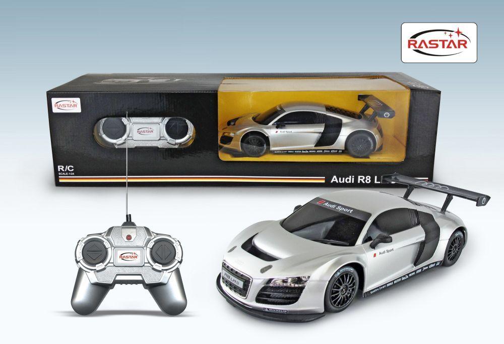 Masinuta cu telecomanda Rastar Audi R8 1:24 imagine hippoland.ro