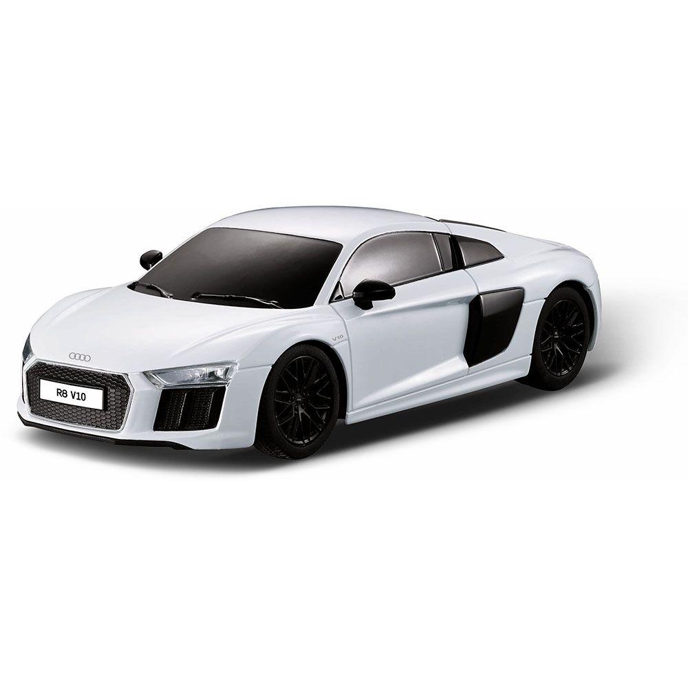 Masinuta cu telecomanda Rastar Audi R8 2015 1:24 imagine hippoland.ro
