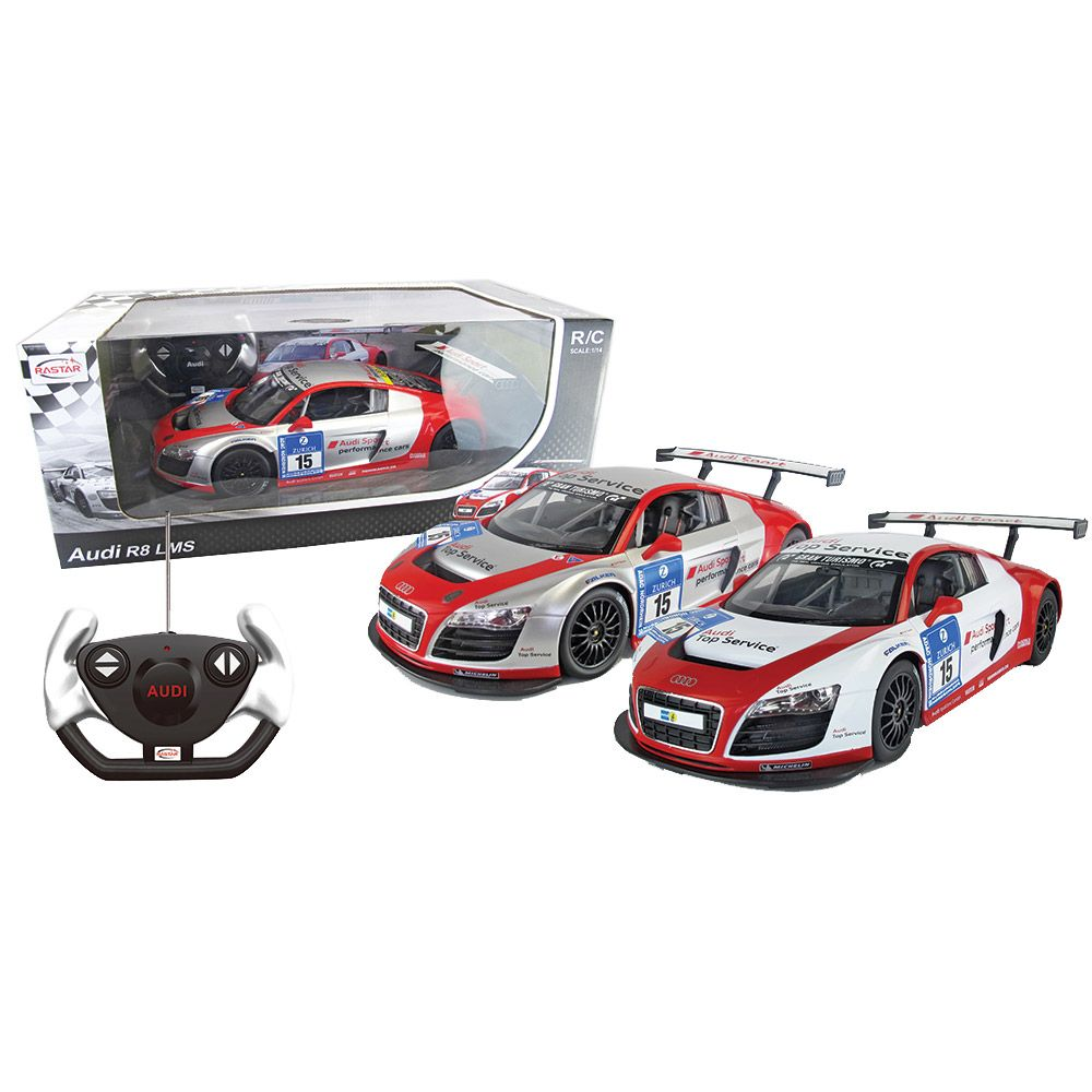 Masinuta cu telecomanda Rastar Audi R8 Performance 1:14 imagine hippoland.ro