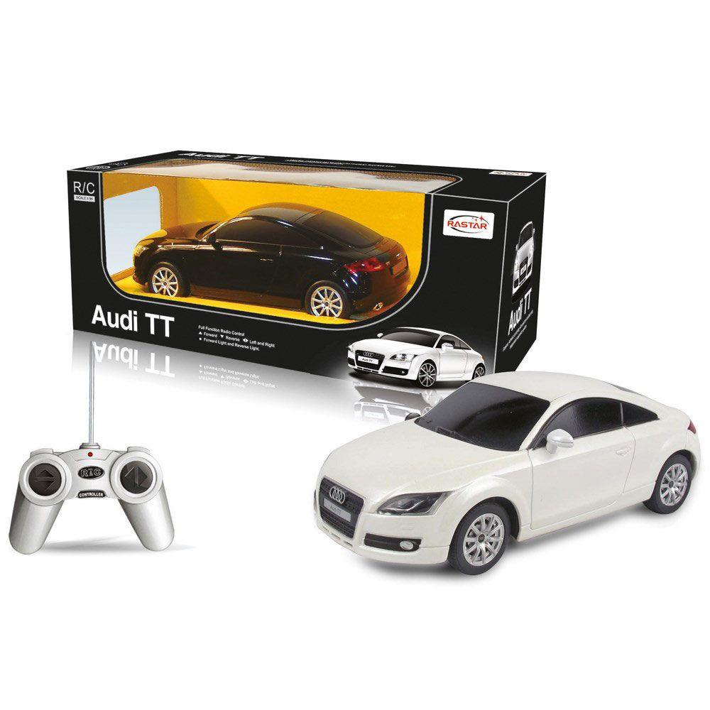 Masinuta cu telecomanda Rastar Audi TT 1:24 imagine hippoland.ro