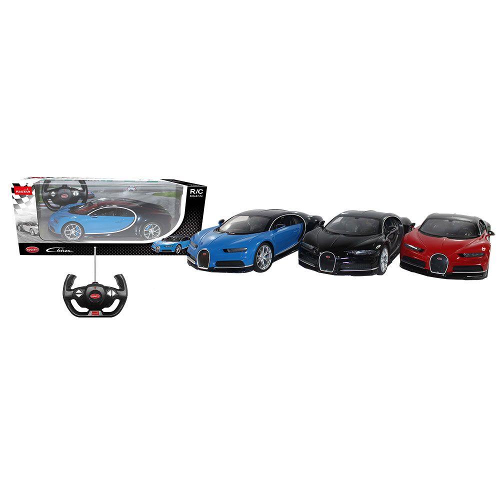 Masinuta cu telecomanda Rastar Bugatti Chiron 1:14 imagine hippoland.ro