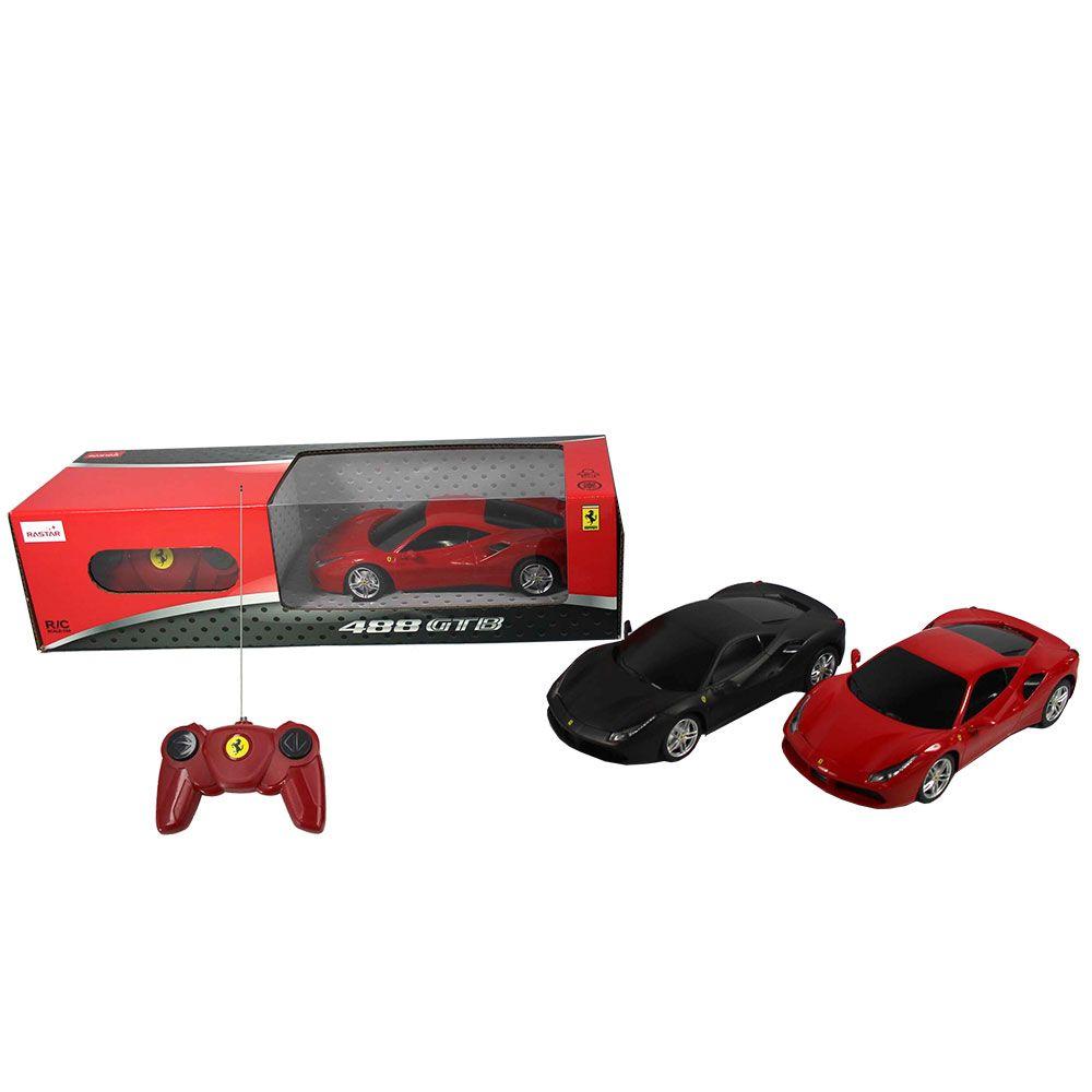 Masinuta cu telecomanda Rastar Ferrari 488 GTB 1:24 imagine hippoland.ro