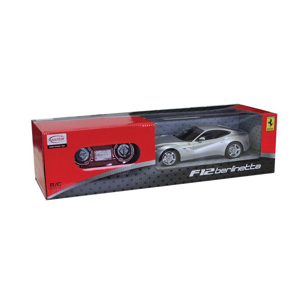 Masinuta cu telecomanda Rastar Ferrari F12 1:24 imagine hippoland.ro