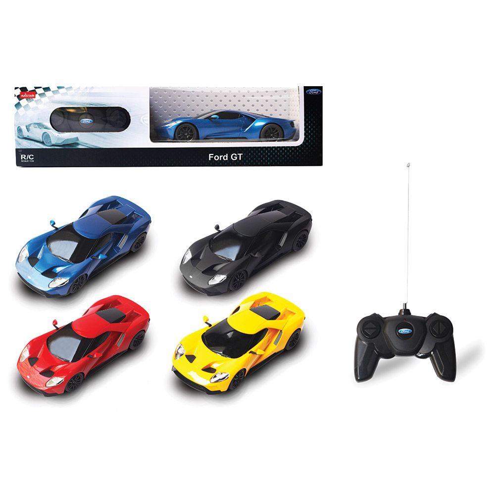 Masinuta cu telecomanda Rastar Ford GT 1:24 imagine hippoland.ro