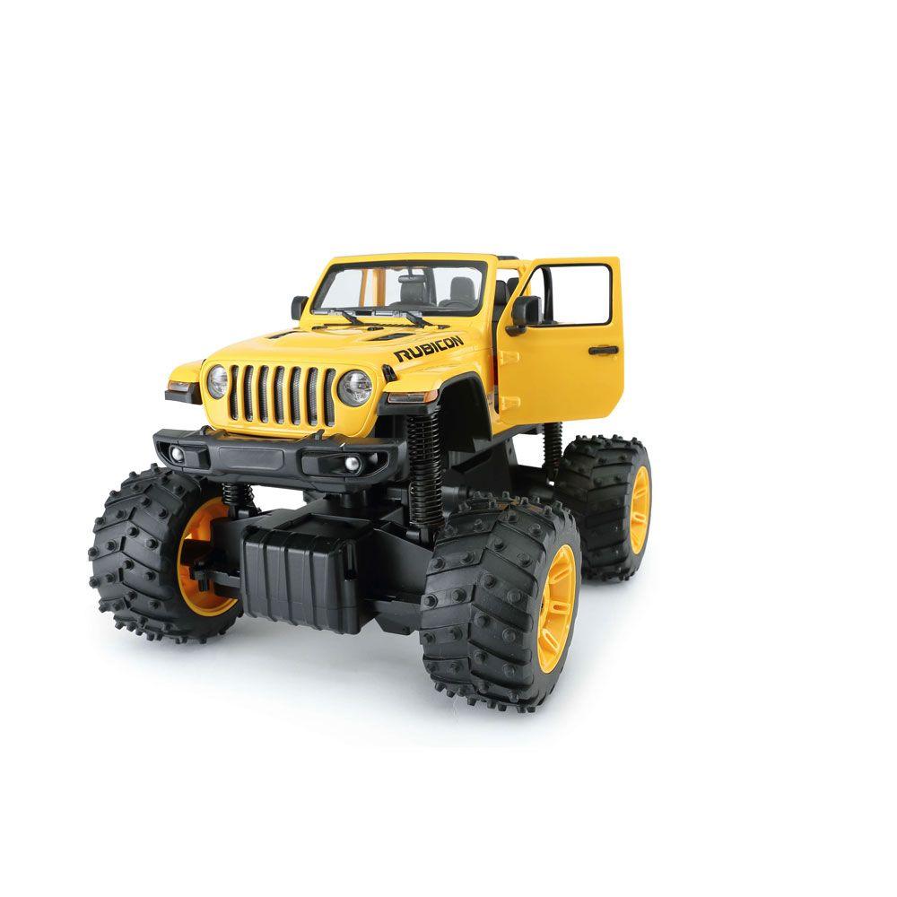 Masinuta cu telecomanda Rastar Jeep Wrangler Rubicon 1:14 imagine hippoland.ro