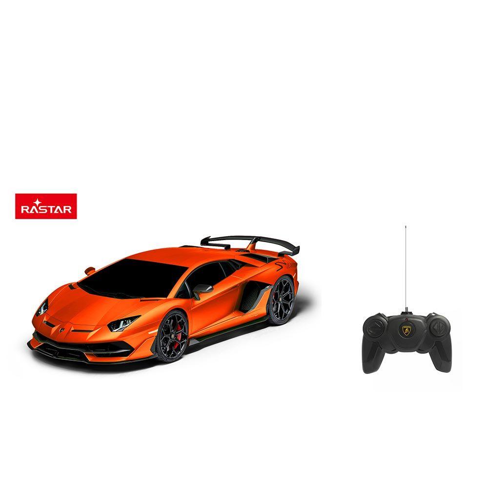 Masinuta cu telecomanda Rastar Lamborghini Aventador 1:24 imagine hippoland.ro