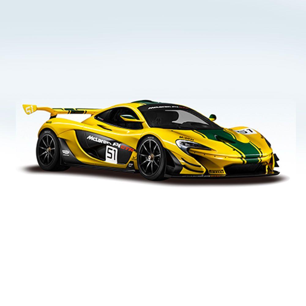 Masinuta cu telecomanda Rastar McLaren P1 GTR 1:14 imagine hippoland.ro