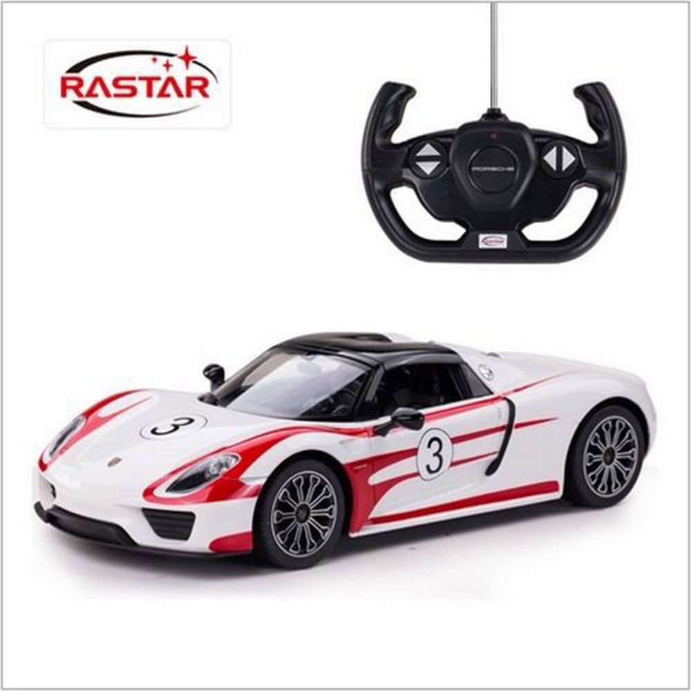 Masinuta cu telecomanda Rastar Porsche 1:14 imagine hippoland.ro