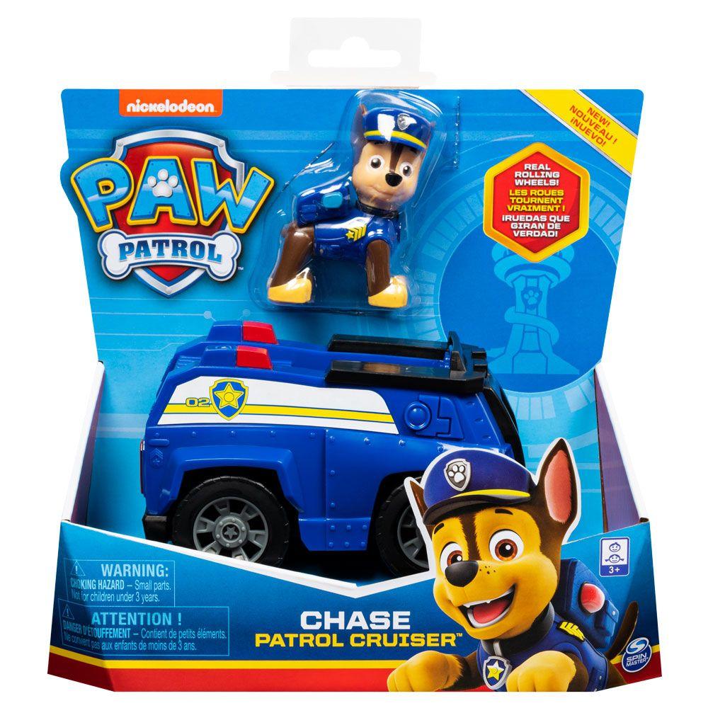 Masinuta de salvare Paw Patrol Chase Patrol Cruiser imagine hippoland.ro