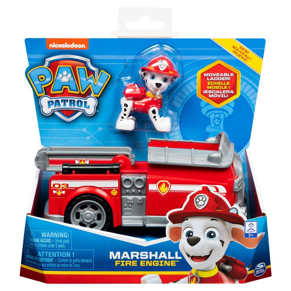 Masinuta de salvare Paw Patrol Marshal Fire Engine imagine hippoland.ro