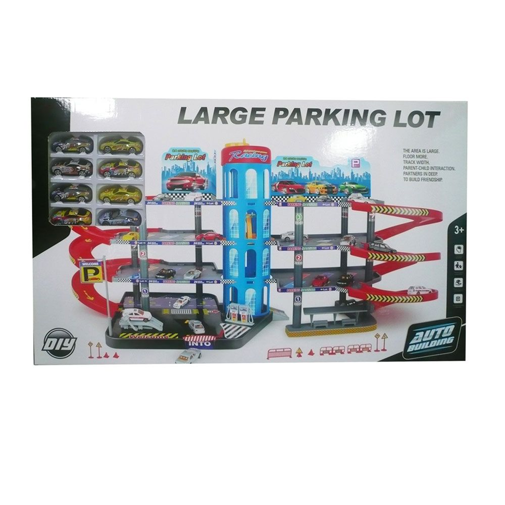 Mega parcare cu lift si 8 masinute Ocie Parking City imagine hippoland.ro