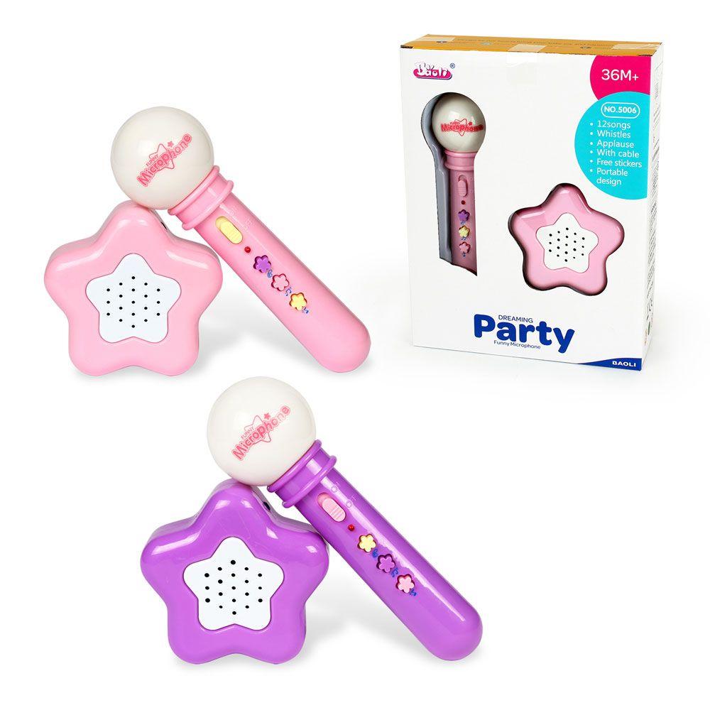 Microfon cu amplificator Baoli Party imagine hippoland.ro
