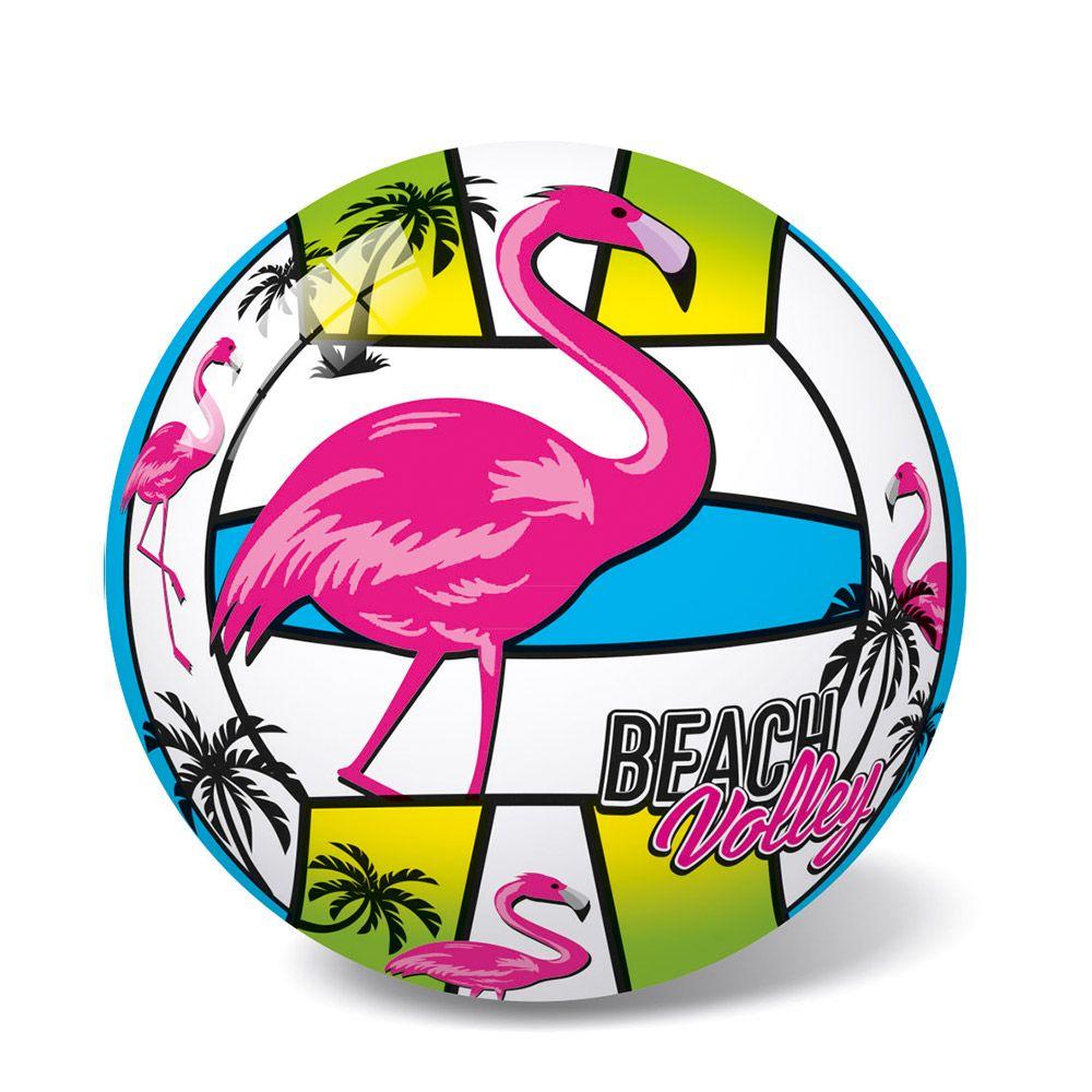 Minge volei PVC 21 cm StarBall Flamingo pink 970 imagine hippoland.ro