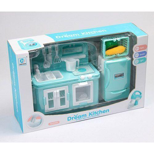 Mini bucatarie cu frigider Asis Dream imagine hippoland.ro