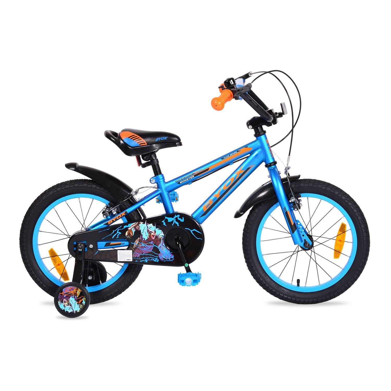 Bicicleta Moni Monster 16 inch Blue imagine hippoland.ro