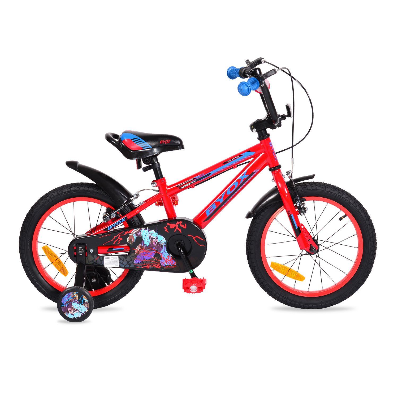 Bicicleta Moni Monster 16 inch Red imagine hippoland.ro