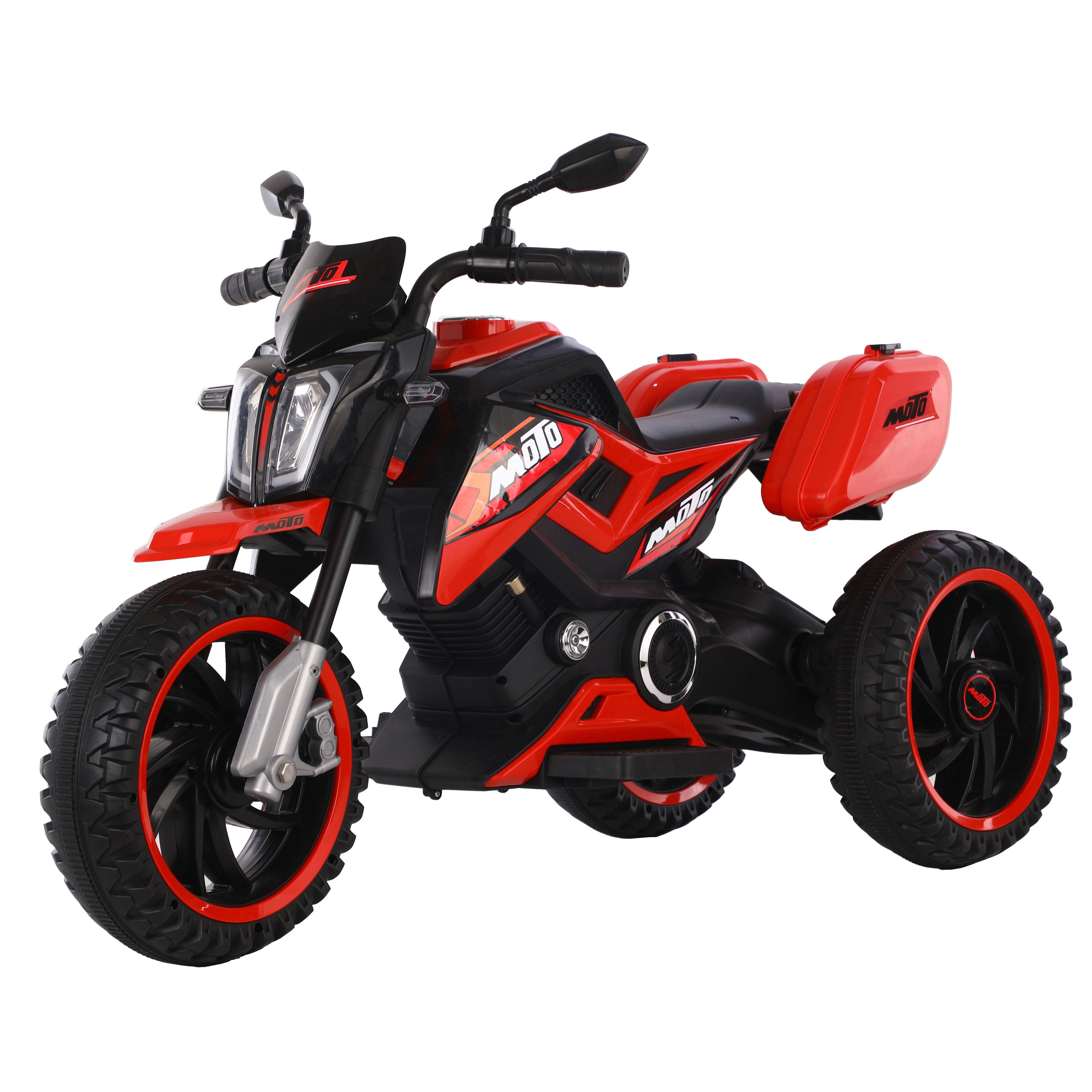 Motocicleta 3 roti cu acumulator Ocie Motor 12 V Red imagine hippoland.ro