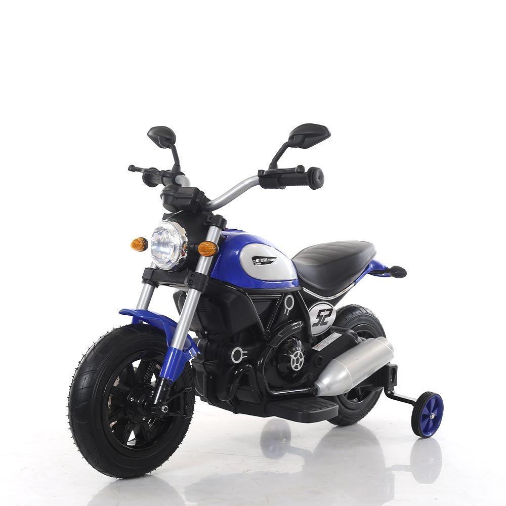 Motocicleta cu acumulator 6V Ocie Tianda Blue 3220281-2 imagine hippoland.ro
