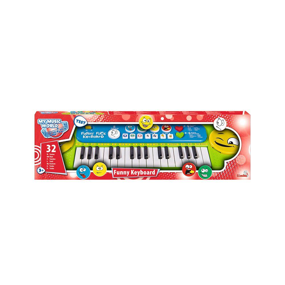 Orga muzicala Simba My Music World Fun imagine hippoland.ro