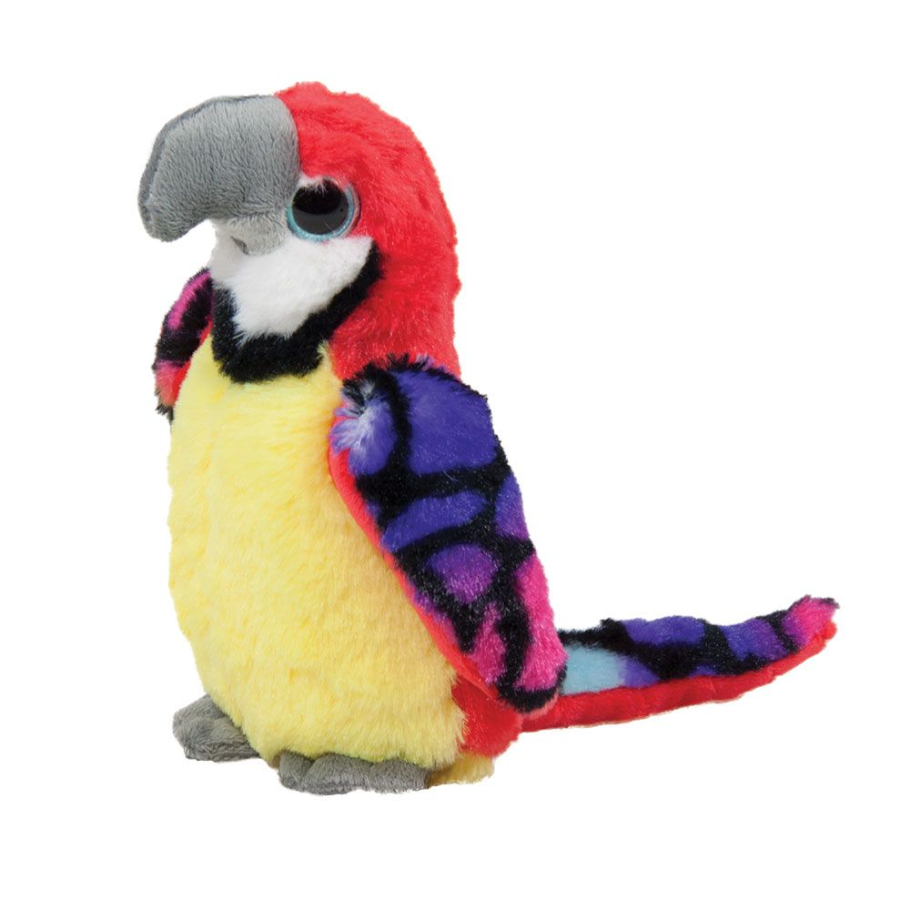 Papagal colorat Amek 20 cm imagine hippoland.ro