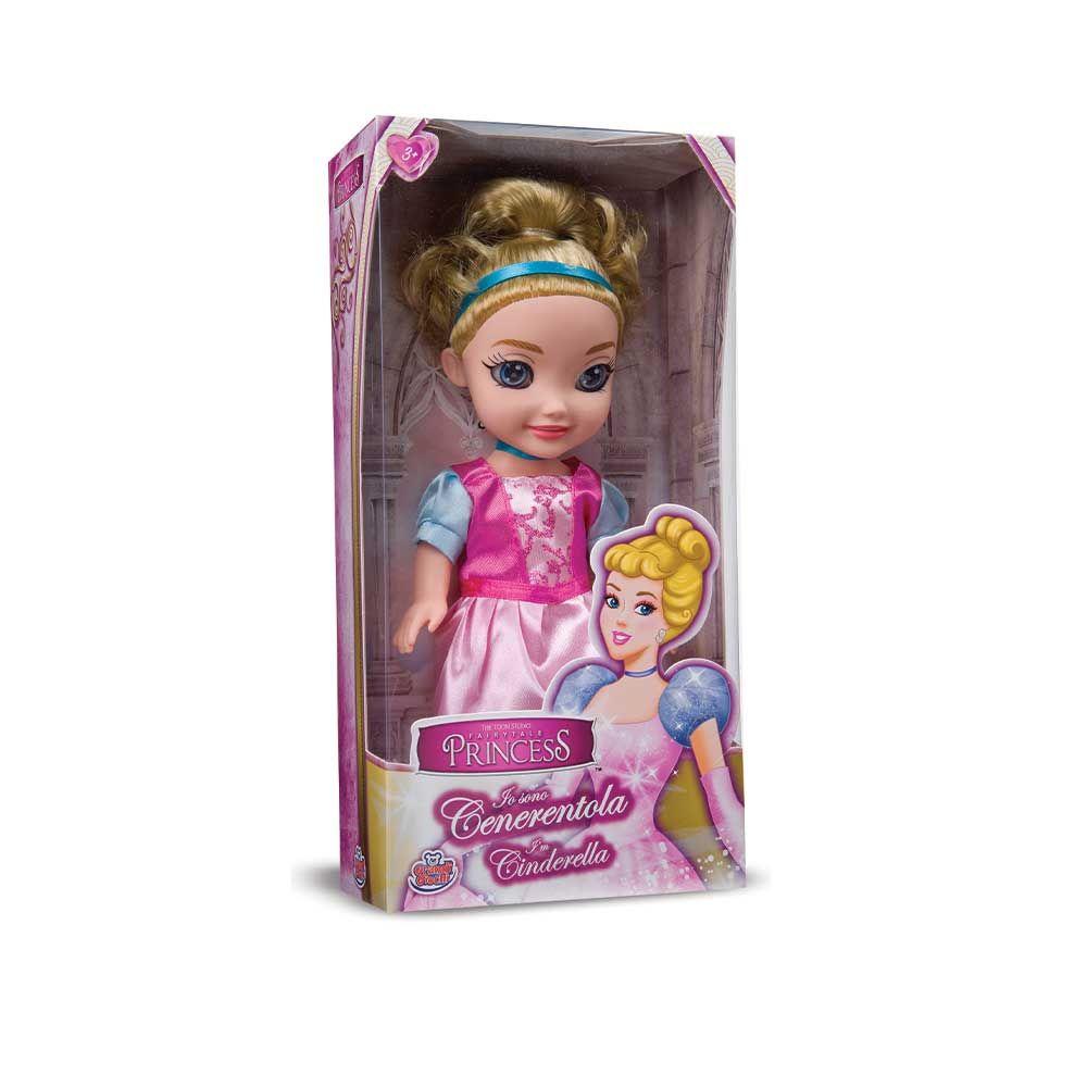 Papusa 25 cm Fairytale Princess Cenusareasa imagine hippoland.ro