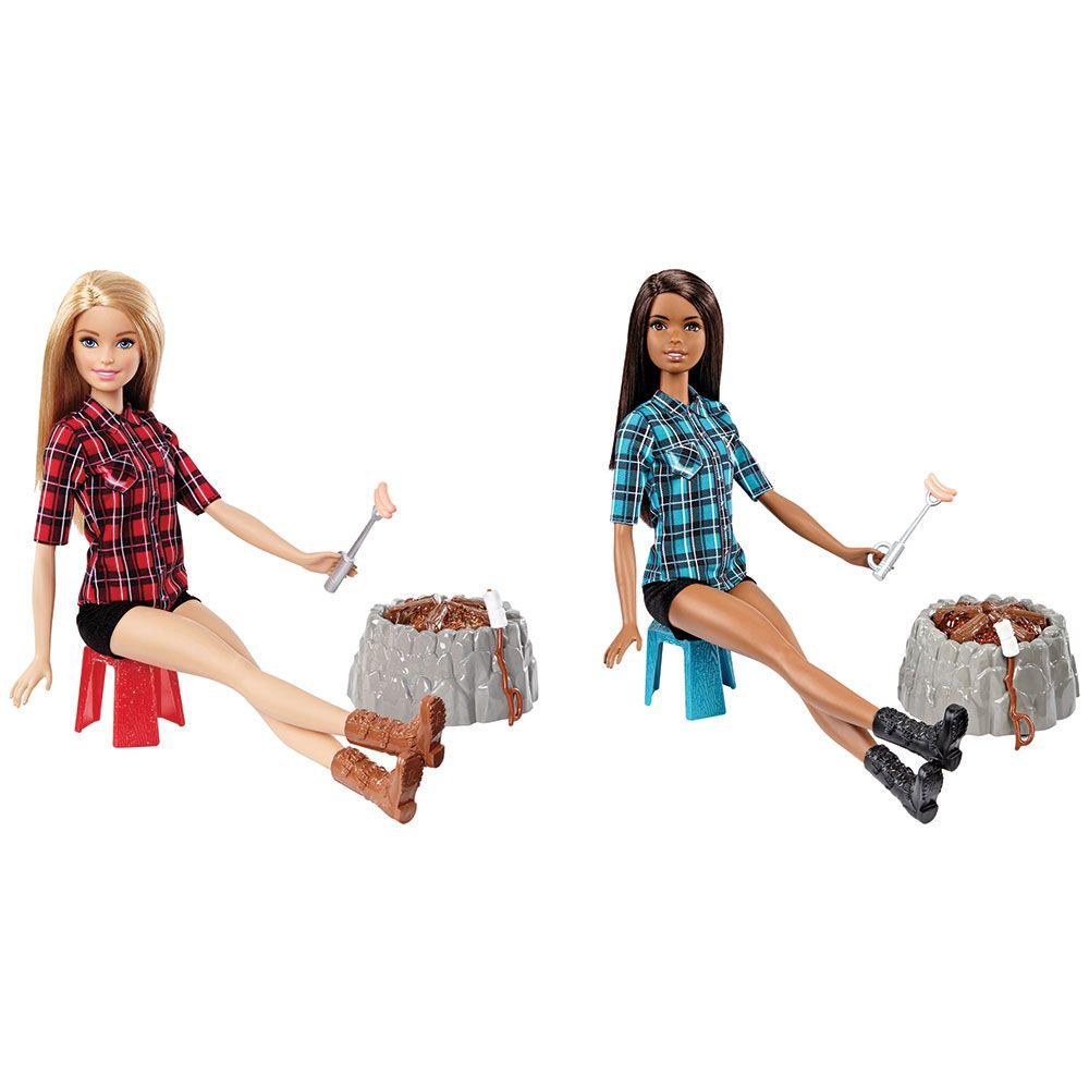 Papusa Barbie Campfire imagine hippoland.ro