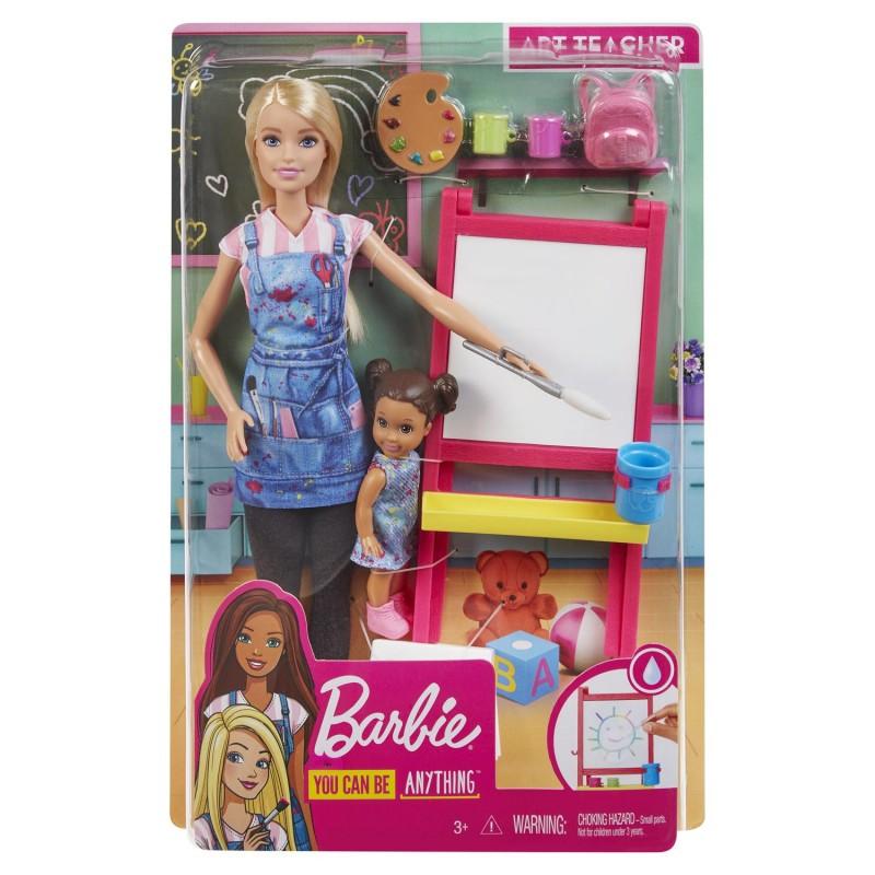Papusa Barbie Invatatoare si Evi You Can Be Anything imagine hippoland.ro