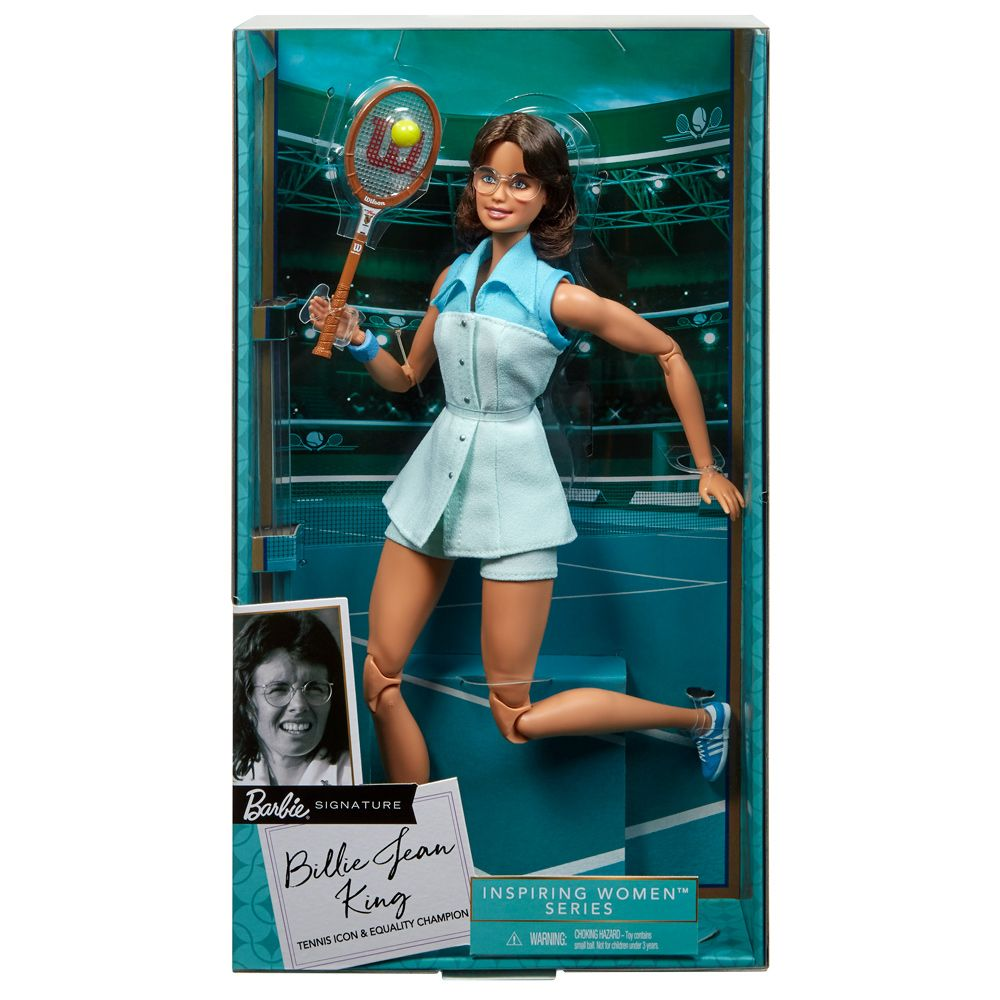 Papusa Barbie Social Inspiring Women Billie Jean King imagine hippoland.ro