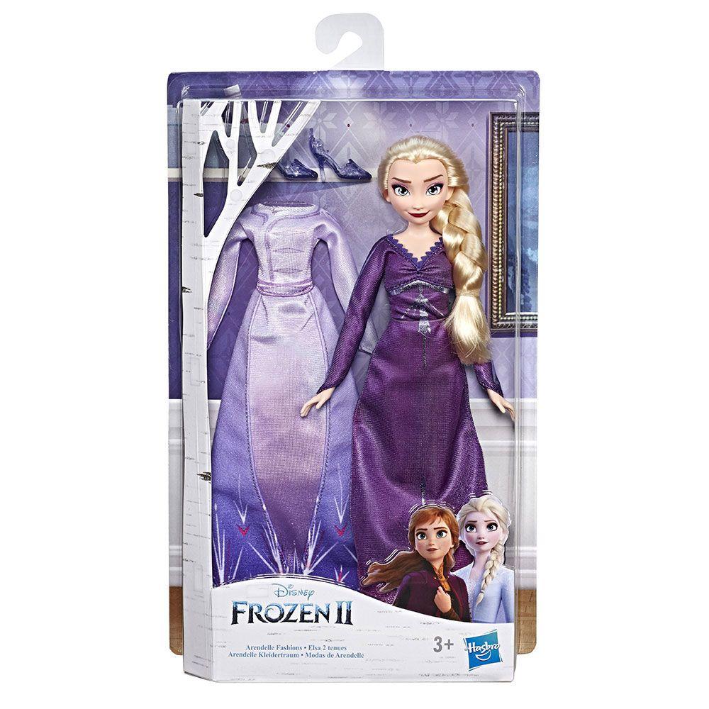 Papusa cu 2 rochii Hasbro Disney Frozen II imagine hippoland.ro