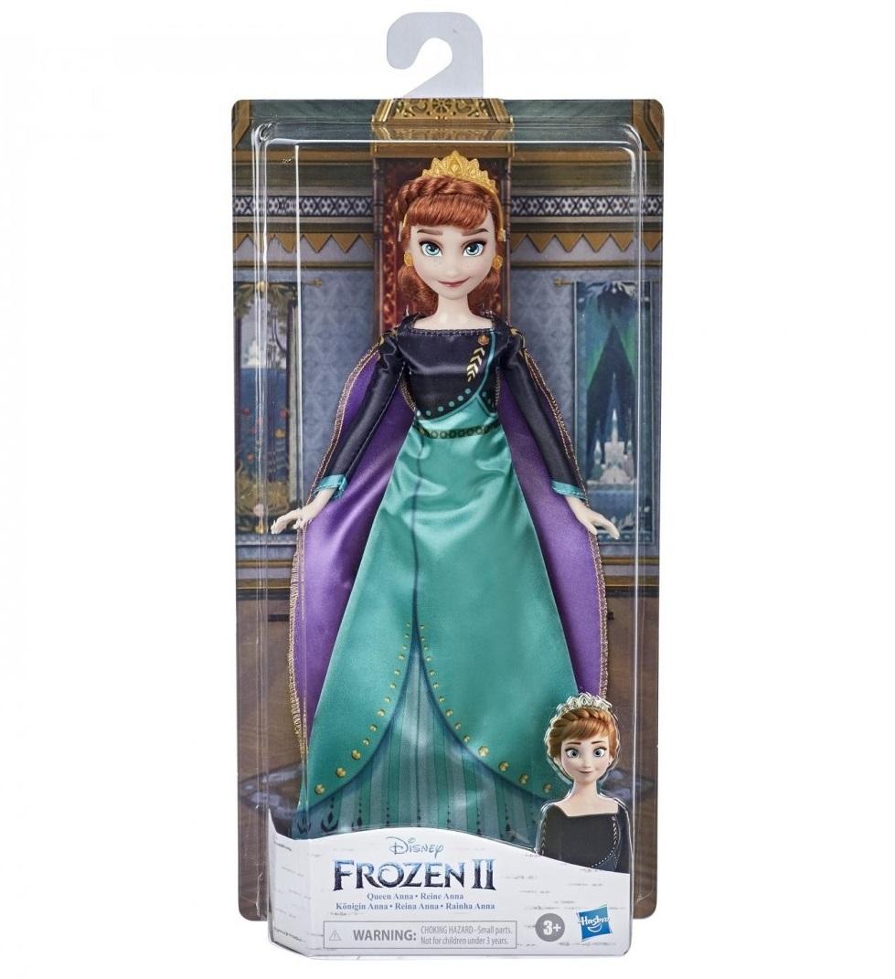 Papusa Hasbro Disney Frozen II Regina Anna imagine hippoland.ro