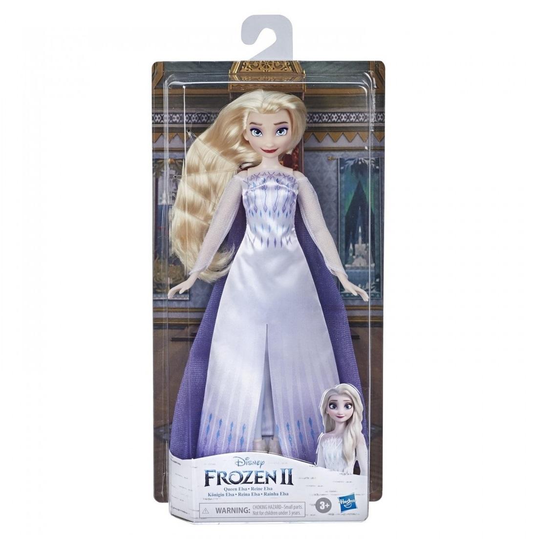 Papusa Hasbro Disney Frozen II Regina Elsa imagine hippoland.ro