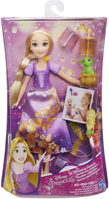 Papusa Rapunzel cu lampion imagine hippoland.ro