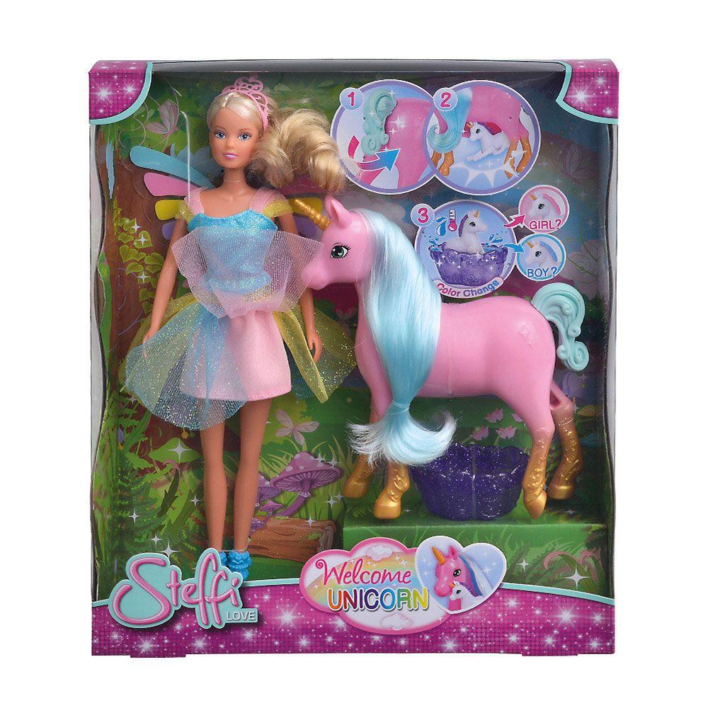 Papusa Steffi Love Welcome Unicorn imagine hippoland.ro