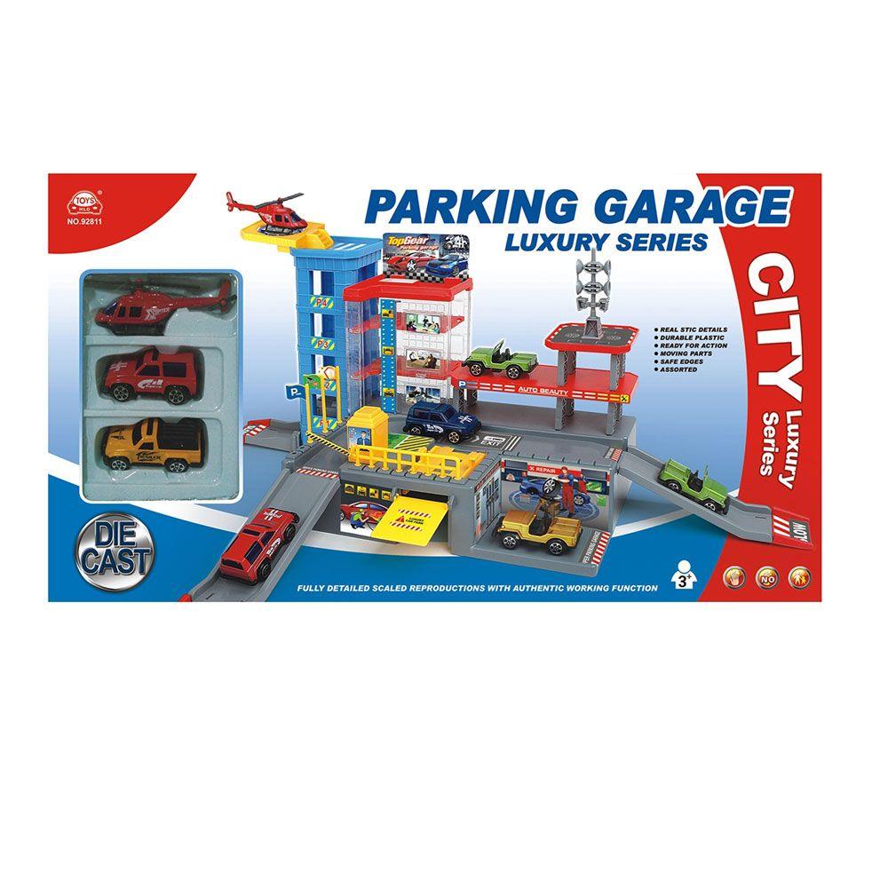 Parcare cu 4 niveluri Ocie Parking City imagine hippoland.ro
