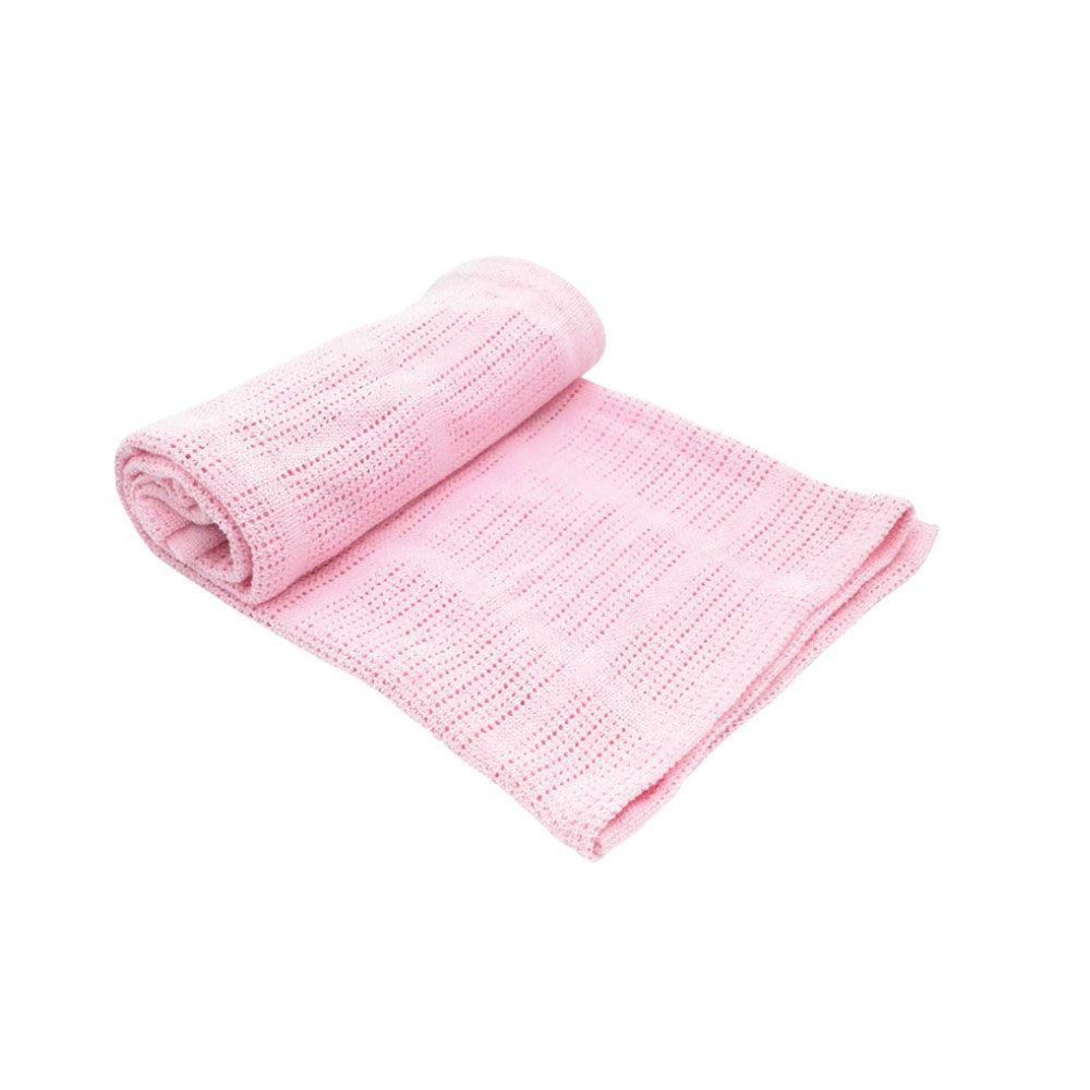 Paturica bebelusi Kikka Cellular pink imagine hippoland.ro