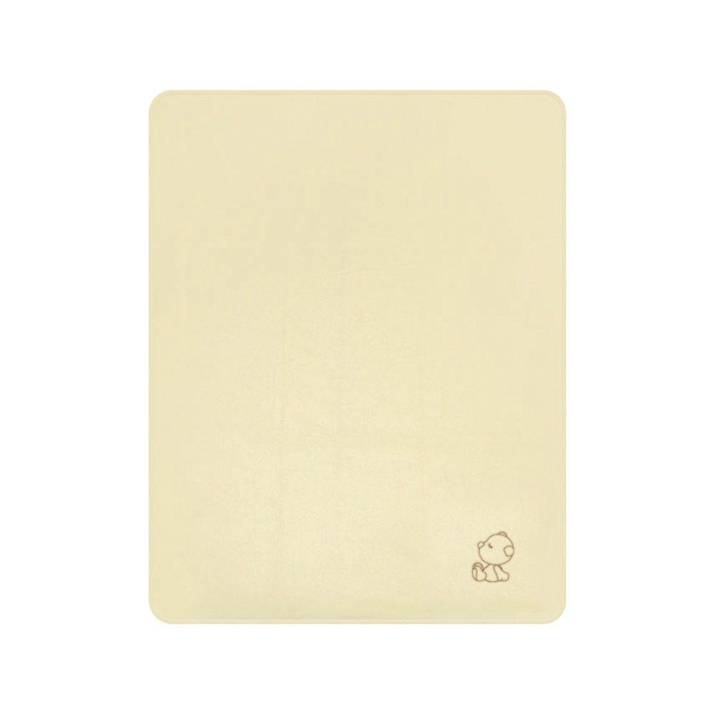 Paturica pentru bebelusi Lorelli Polar Beige bear 75 x 100 cm imagine hippoland.ro