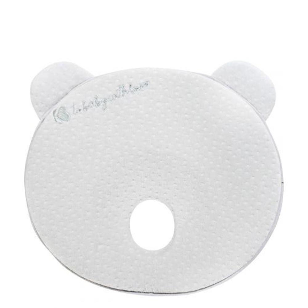 Perna ergonomica cu spuma de memorie Kikka Bear Grey Velvet imagine hippoland.ro