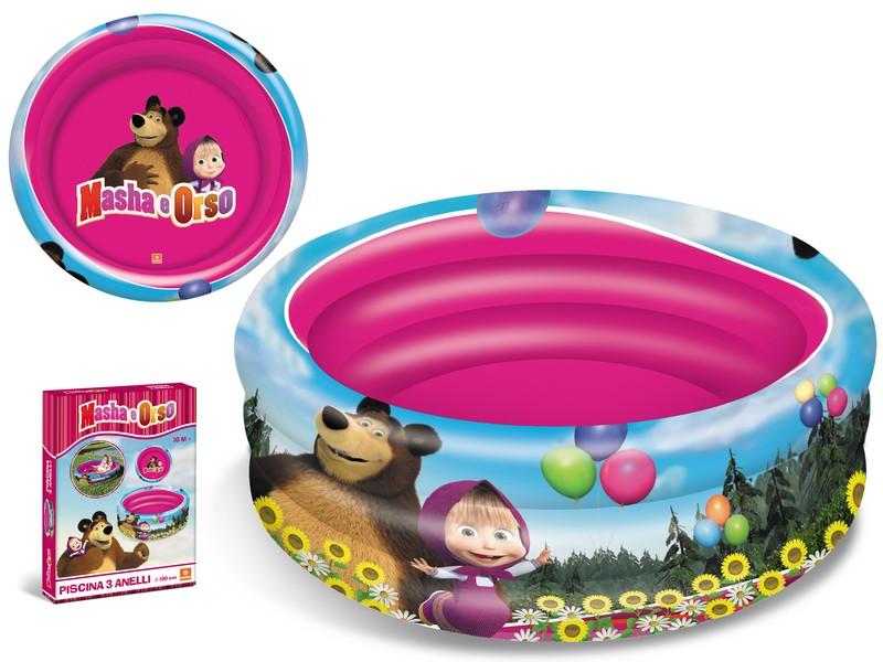 Piscina cu trei nivele Mondo Masha and the bear imagine hippoland.ro