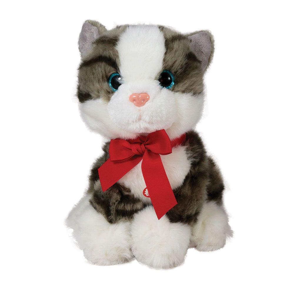 Pisica de plus cu sunete Amek 25 cm imagine hippoland.ro