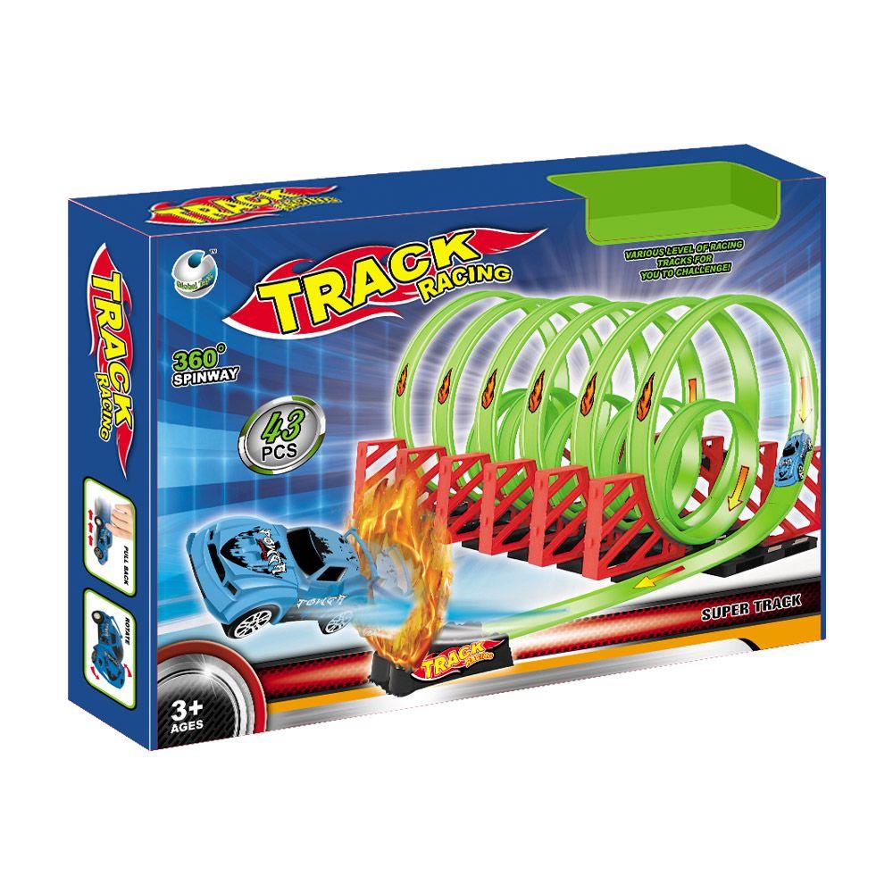 Pista cilindrica Track Racing 360 Spinway imagine hippoland.ro