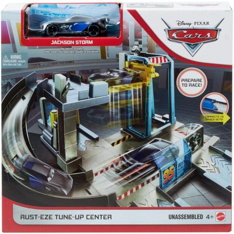 Pista cu masinuta Cars Centrul lui Rust-eze imagine hippoland.ro